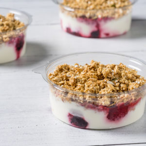 granola pots breakfast