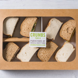 variety sandwich bread slices in a box