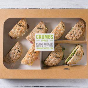 large sandwich thins platter