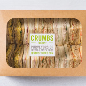 small sandwich platter in a box