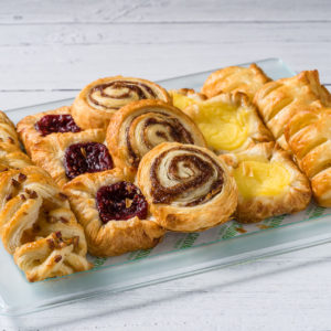 mini danish pastries for the sweets and treats